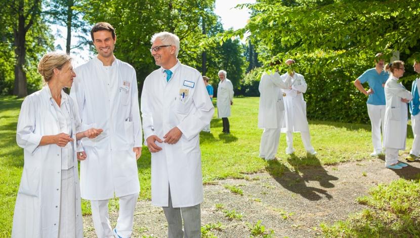 Ärzte in den Wertachklinken Schwabmünchen und Bobingen, Imagebilder Matthias Baumgartner Werbefotografie